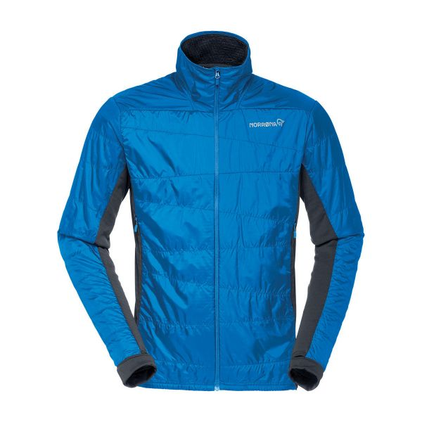 Norrona Falketind Alpha60 Men's Insulated Jacket Hot Sapphire