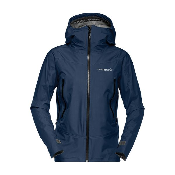 Norrona Falketind Women's Gore-Tex Jacket Indigo Night