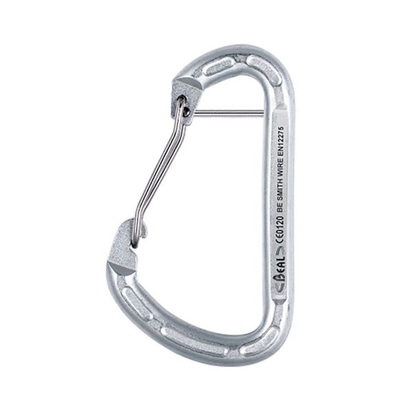 Steel anchor carabiner