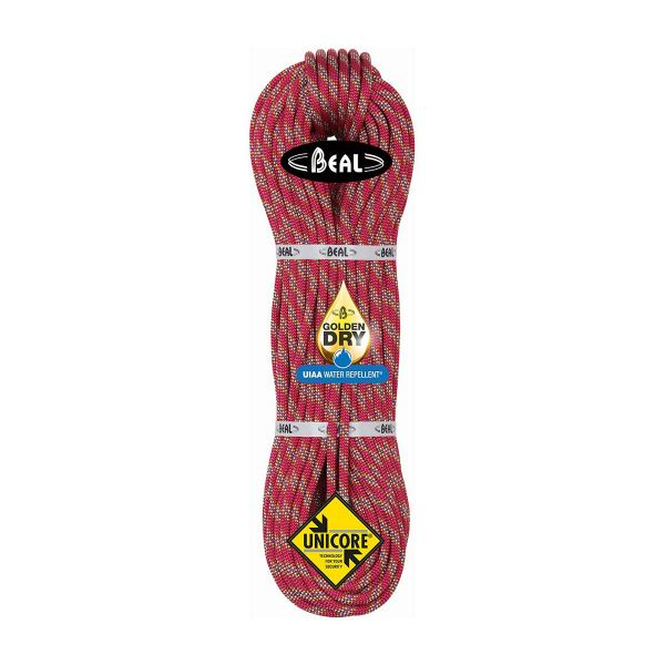 Beal Cobra 8.6mm climbing rope, climbing rope, mountaineering rope, multi-pitch rope, multi-use climbing rope