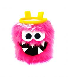Crafty Five Toothed Monster Chalk Bag Pink