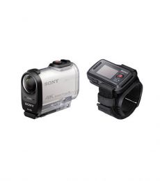 Sony Action Camera FDR-X1000VR 4K with RM-LVR2 Live View Remote