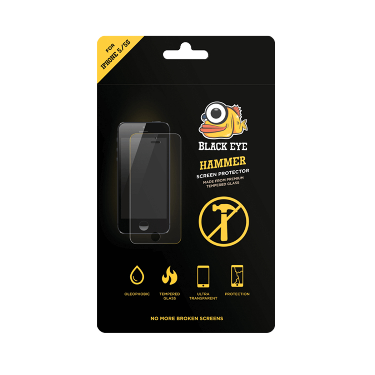 Black Ice Screen Protector Iphone