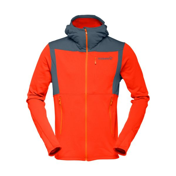 Falketind Warm1 Stretch Zip Hoodie Men -Last Season