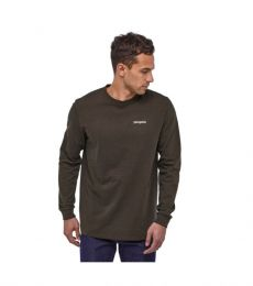 Long-Sleeved Line Logo Ridge Responsibili-Tee
