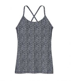 Patagonia Women's Cross Beta Tank Batik Hex Micro: Birch White