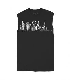 Monvic Cut Sleeveless T-Shirt