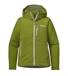 Stretch Rainshadow Jacket Womens Supply Green