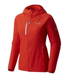 Mountain Hardwear Women's Super Chockstone Hooded Soft Shell Jacket