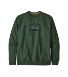 Arched Fitz Roy Bear Uprisal Crew Sweatshirt
