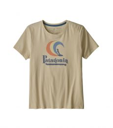 Women's On Rail Organic Cotton Crew T-Shirt
