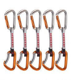 Sport climbing quickdraw set