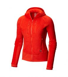 Monkey Woman Grid II Hooded Jacket