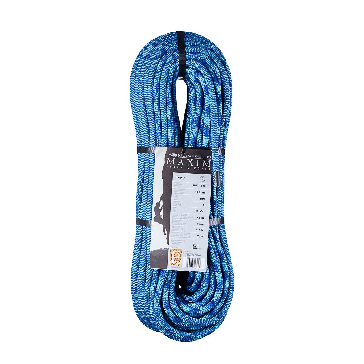 Maxim Ropes Apex 10.2mm 2X-Dry   Single Ropes   EpicTV Shop