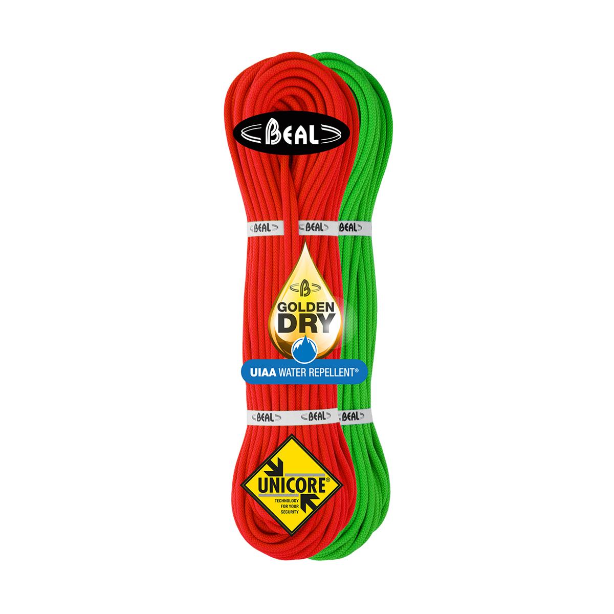 7.3mm Beal Gully Unicore Dry Climbing Rope