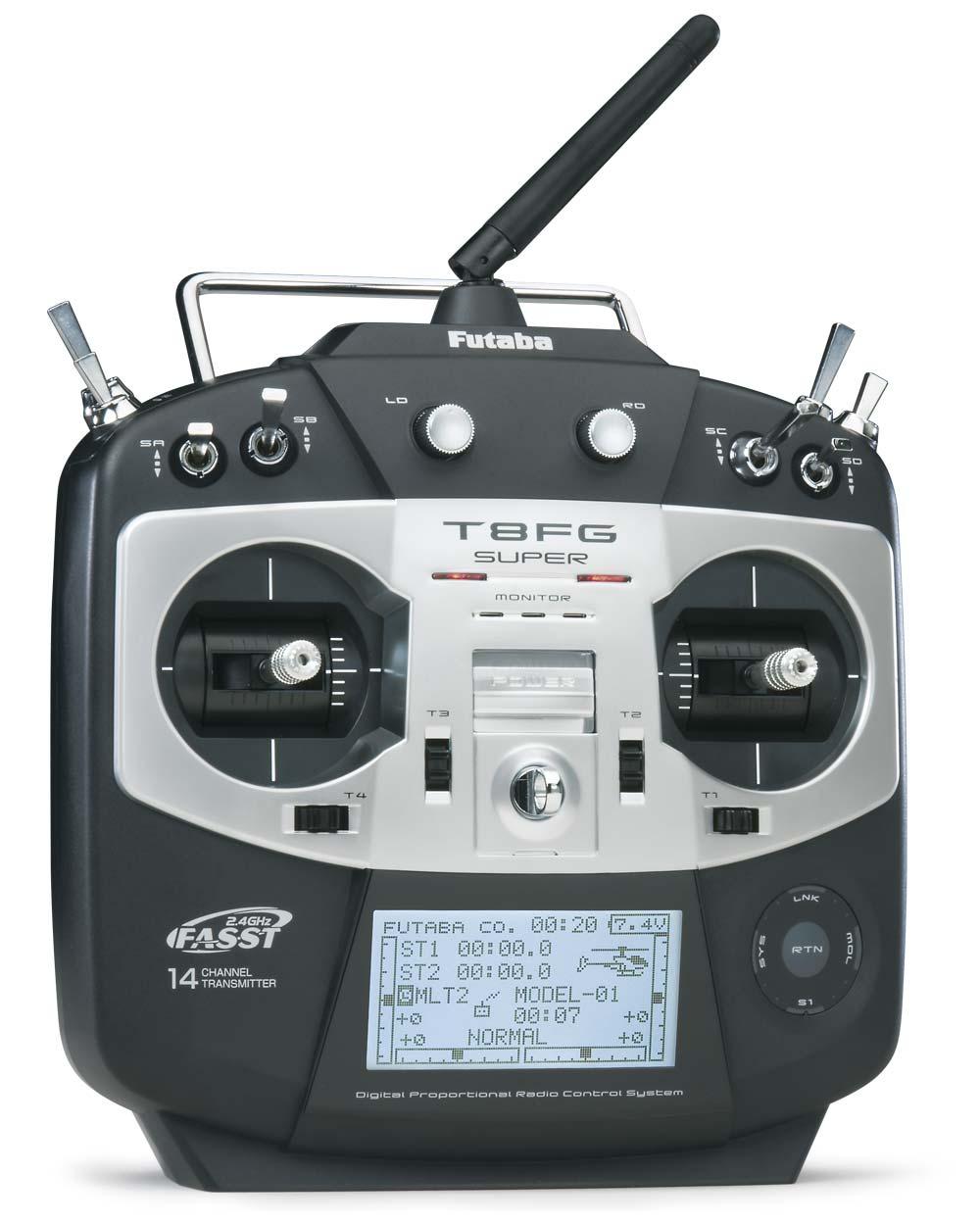 Futaba Futaba T8FG Super FASST 14-Channel 2.4GHz Radio ...  Futaba Futaba T...