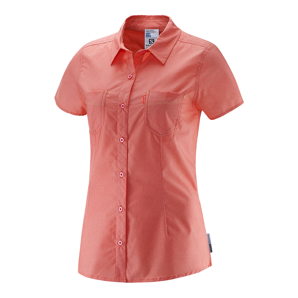 Salomon Charmed Short Sleeve Shirt Woman 2015 T Shirts