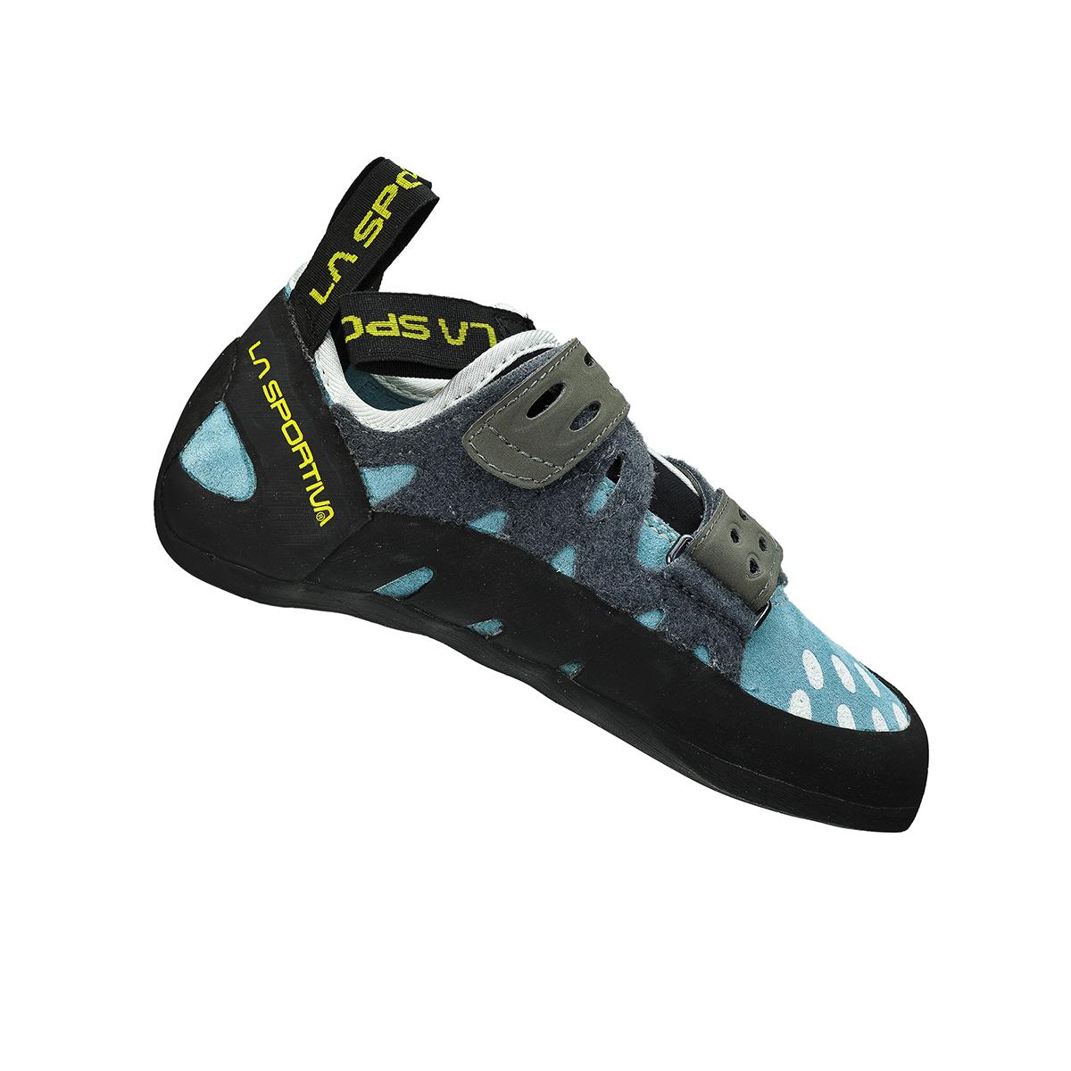 7bc4653a4892 ... La Sportiva Tarantula Women s Trad Multi-Pitch Boulder All-round rock  climbing shoe. Turquoise