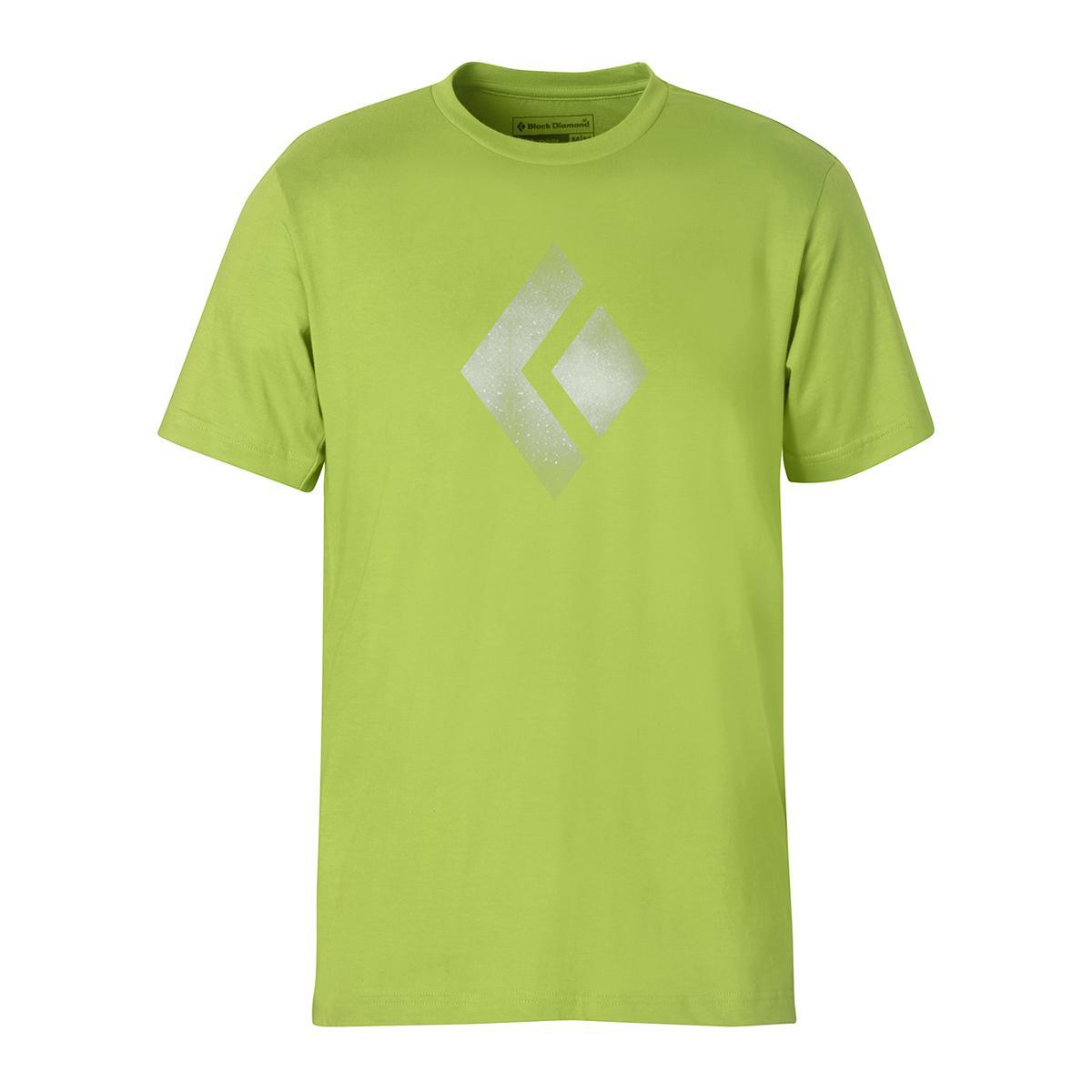 Black diamond chalked up tee t shirts shirts tops for Diamond and silk t shirts