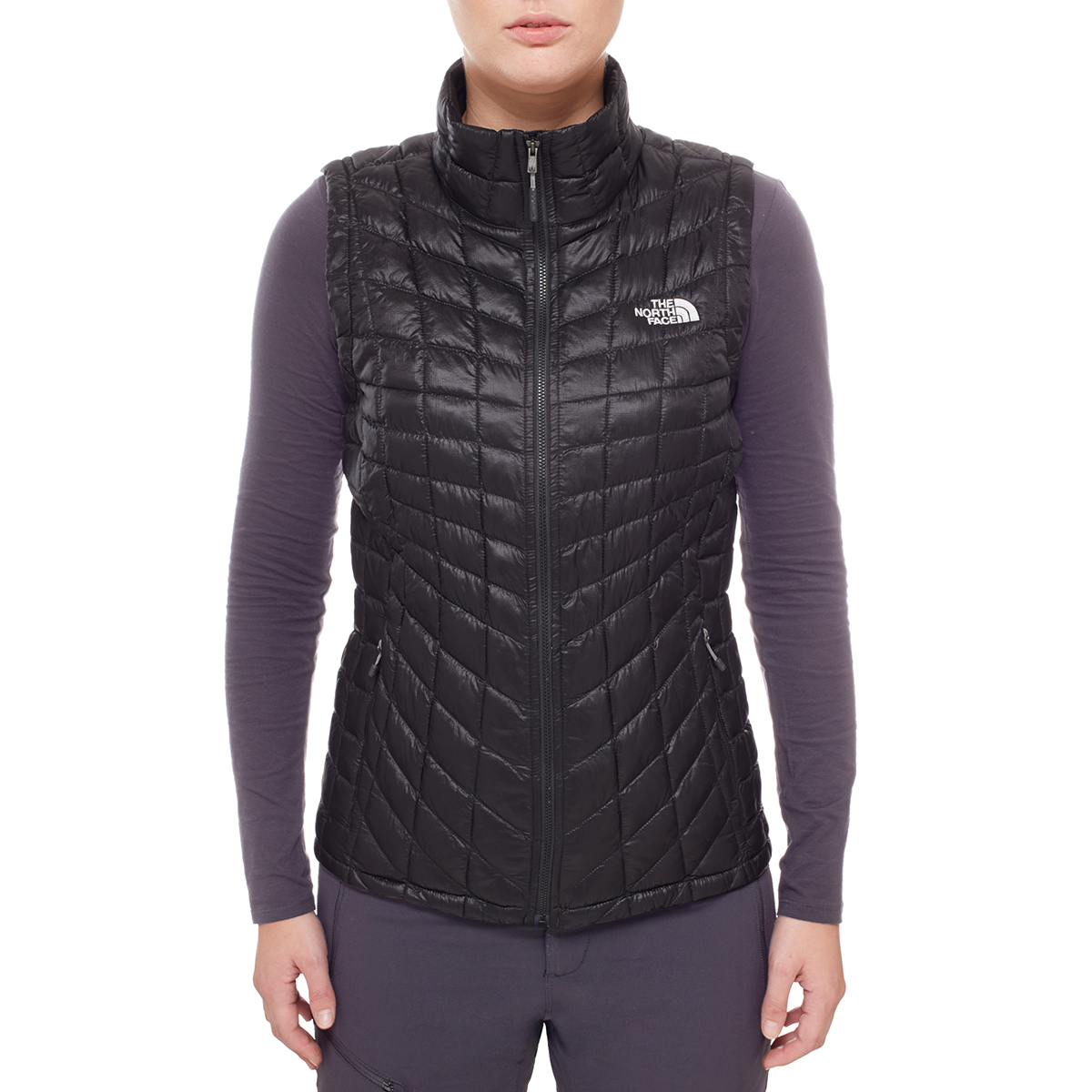 north face veste sans manche thermoball femme