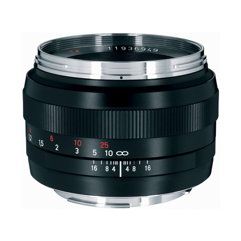 zeiss zeiss 50mm f1 4 planar t for canon ef mount. Black Bedroom Furniture Sets. Home Design Ideas