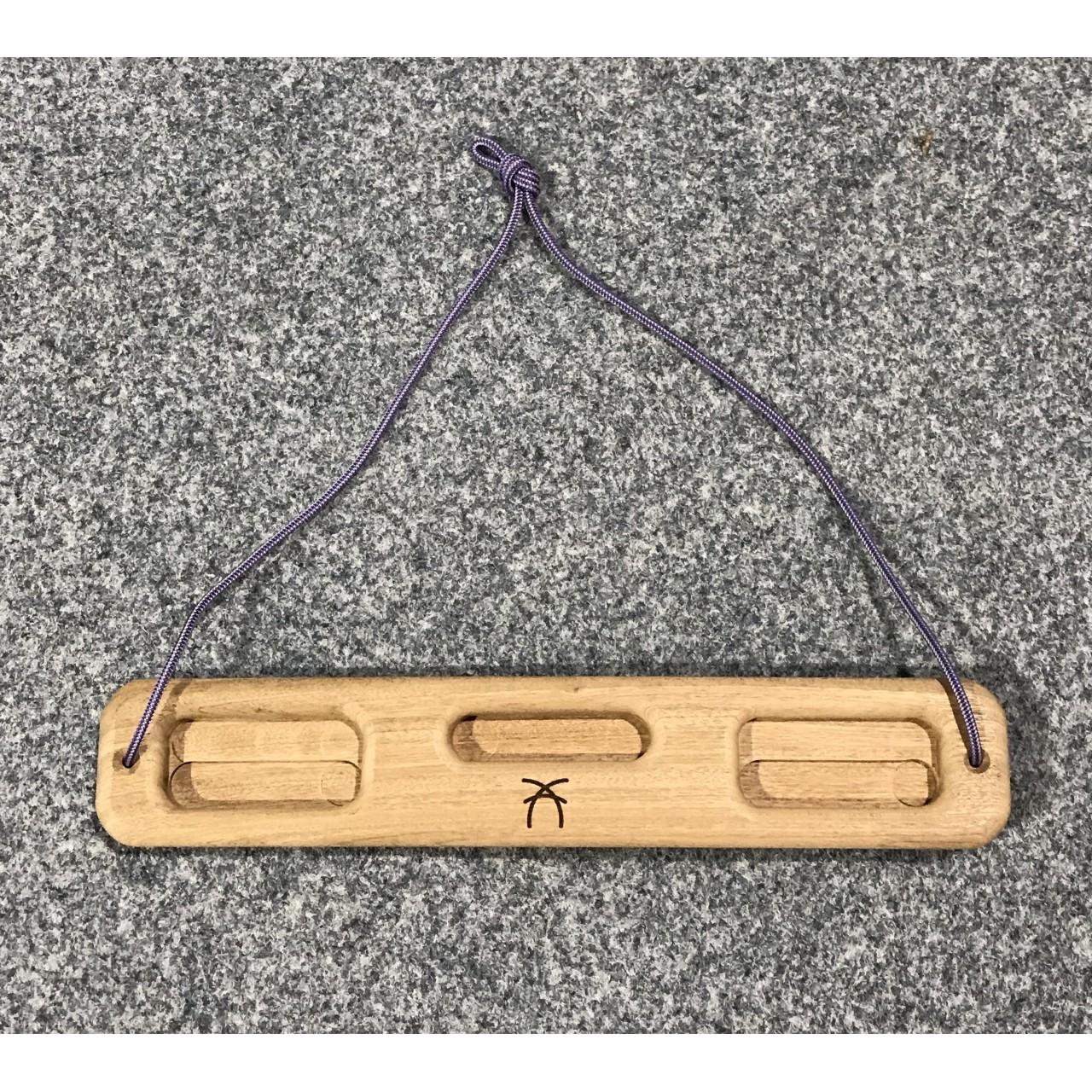 portable fingerboard travel hangboard climbing training