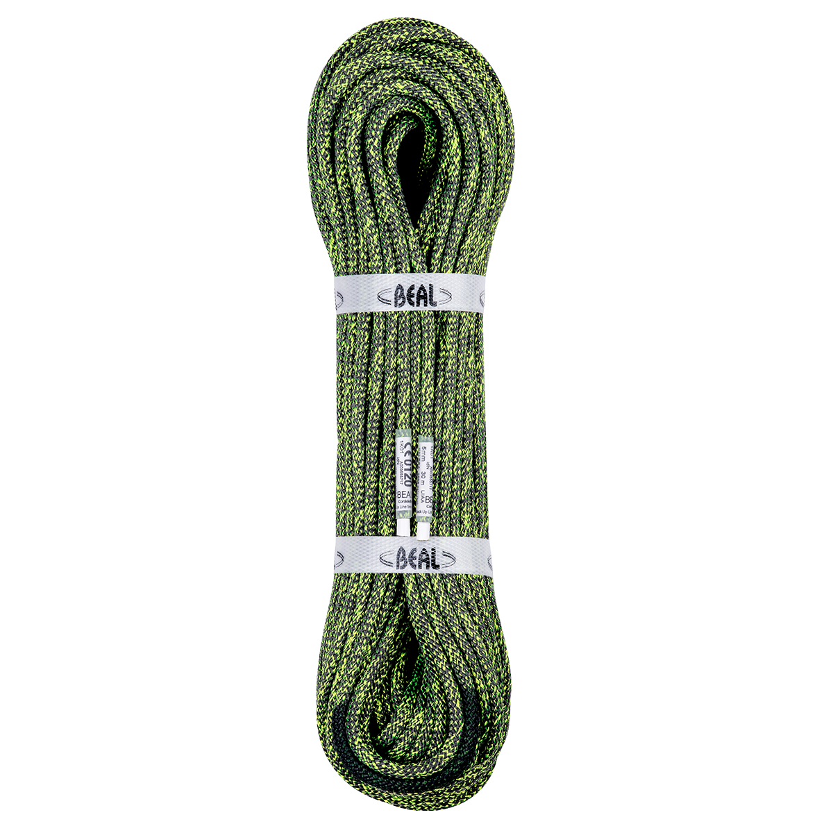 Abseiling rope ...