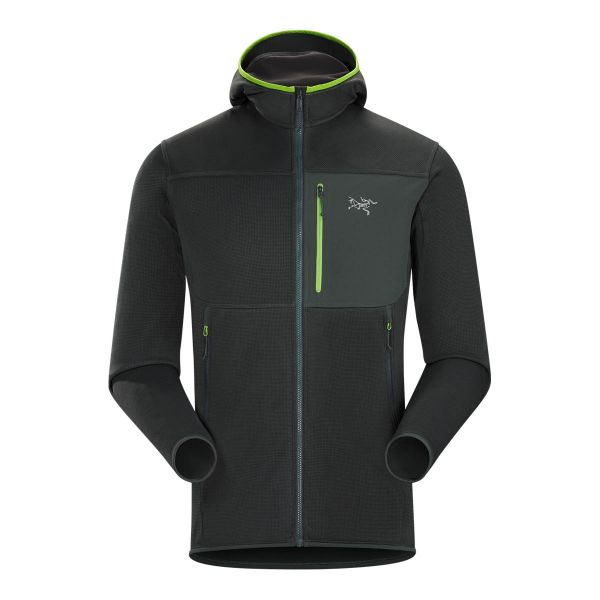 Arc'teryx Fortrez Hoody 2017 rock climbing mountaineering mid-layer fleece