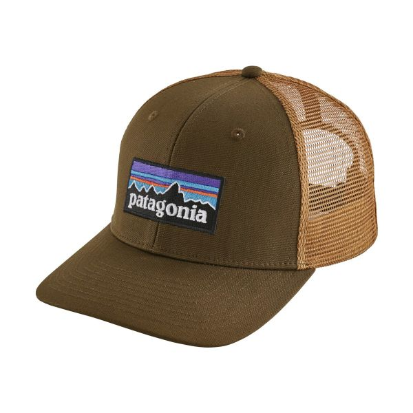 Patagonia P-6 Trucker Hat Sediment