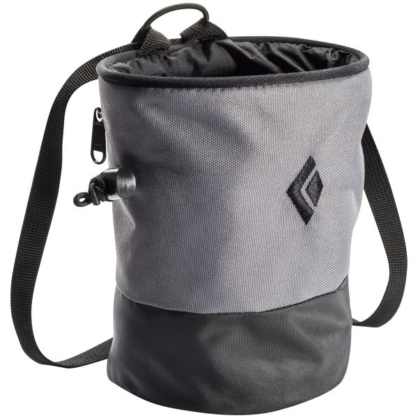 Black Diamond Mojo Zip Chalk Bag Ash