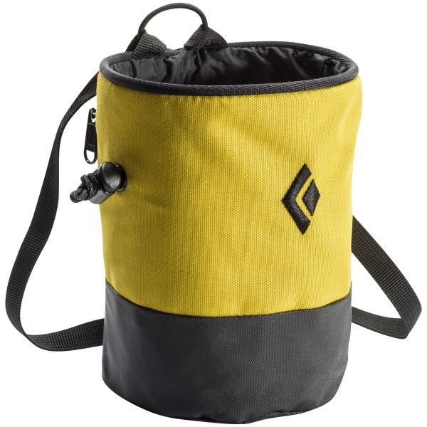 Black Diamond Mojo Zip Chalk Bag Ochre