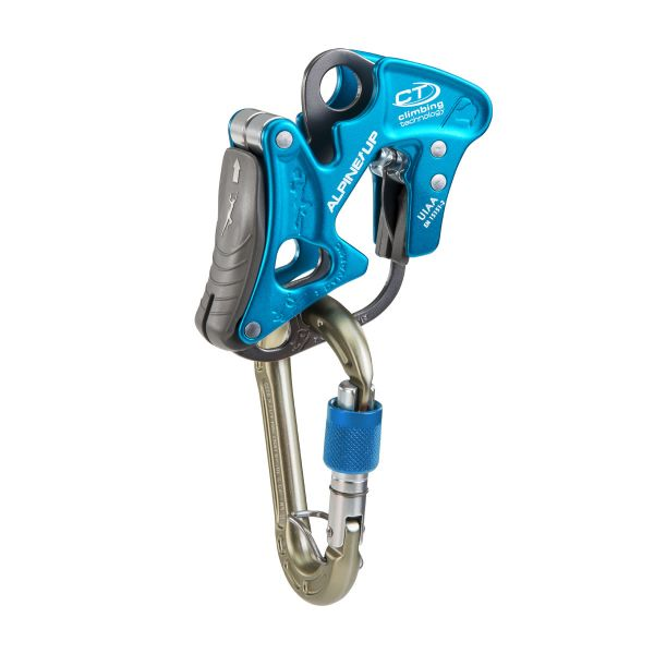 Climbing Technology Alpine Up Belay Device assisted braking manual rock climbing mountaineering alpine