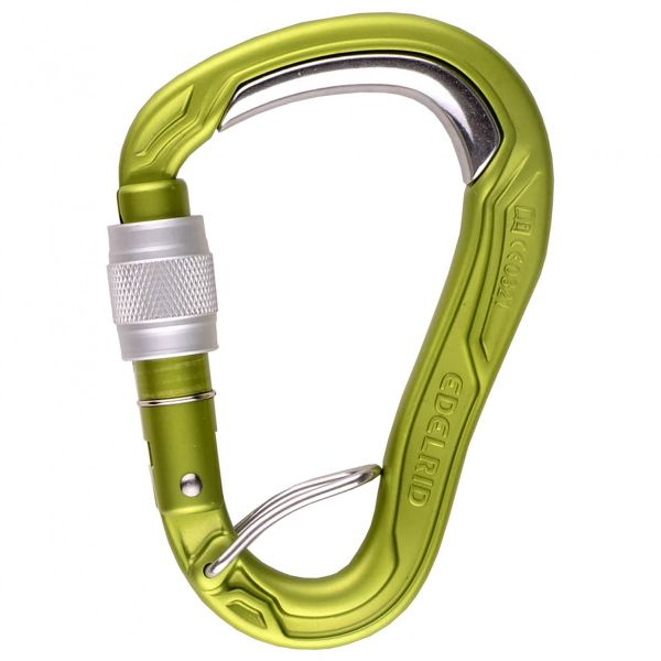 HMS screw lock carabiner