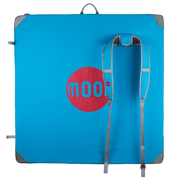 Moon Pluto Crash Pad Blue, Bouldering