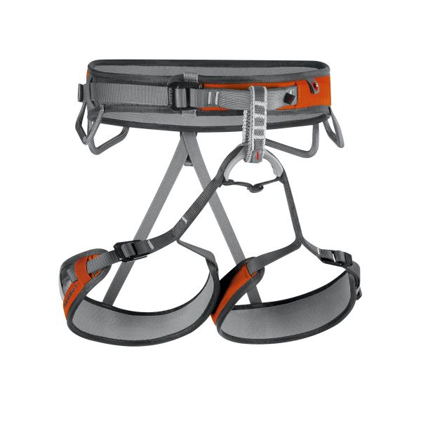 Ophir 3 Slide Harness Smoke Orange Front