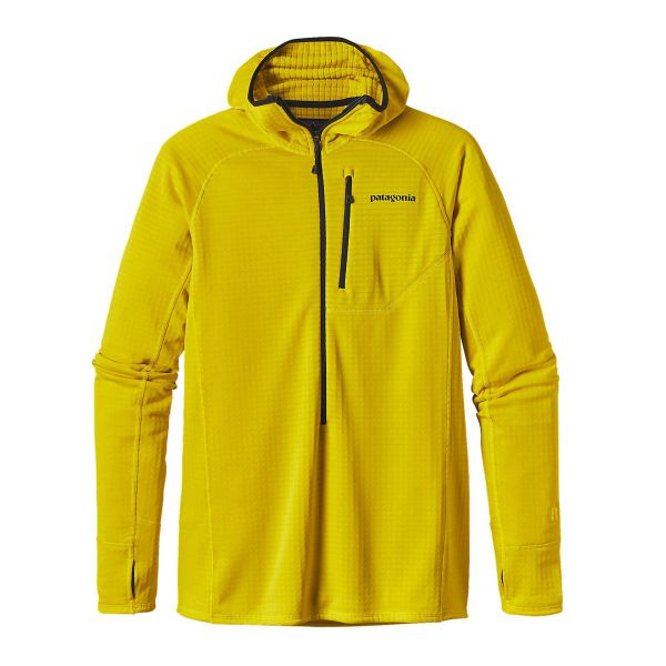 Patagonia R1 Hoody 2017, insulating mid-layer, climbing top