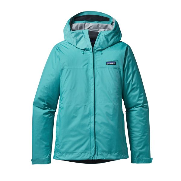 Torrentshell Stretch Rain Jacket (Woman) 2015 (Howling Turquoise)
