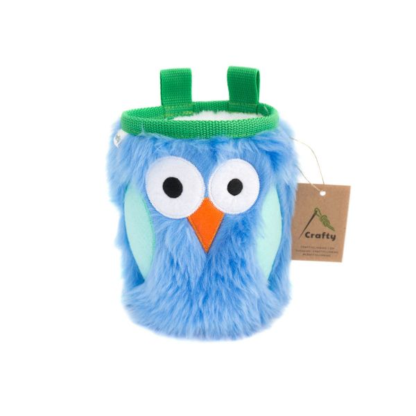 Crafty Climbing Owl Chalk Bag Forest