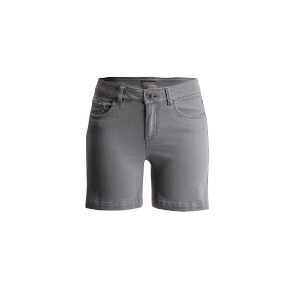 Black Diamond Stretch Font Shorts Women Ash