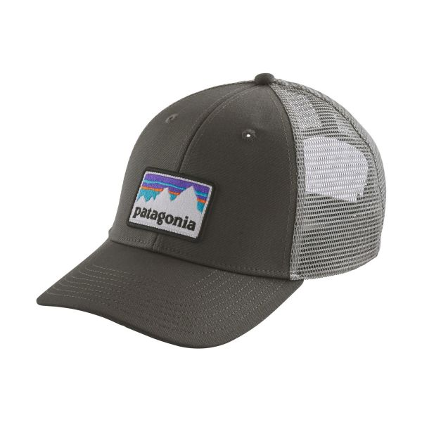 Patagonia Shop Sticker Patch LoPro Trucker Hat (Forge Grey)