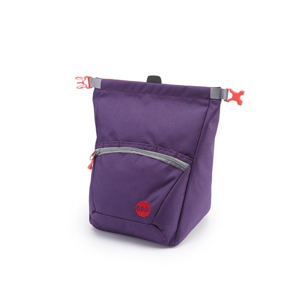 Moon Bouldering Chalk Bag Blackberry