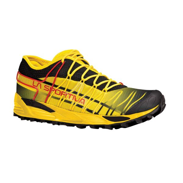La Sportiva Mutant Men's Trail Running Shoe Black and Yellow