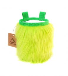 Crafty Climbing Furry Chalk Bag Green