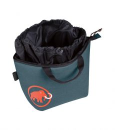 Mammut Magic Boulder Chalk Bag Dark Chill Open