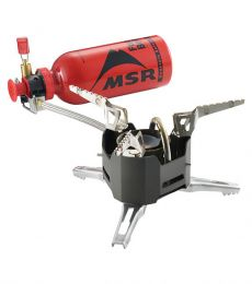 Multi-fuel camping stove