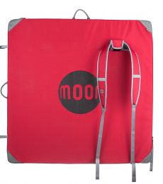 Moon, Pluto, Bouldering mat, Red