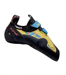 WildClimb Pantera V Velcro Sport and Boulder Rock Climbing Shoe
