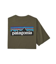 P-6 Logo Organic Cotton T-Shirt Uomo