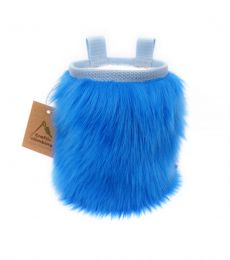 Crafty Climbing Furry Chalk Bag Blue