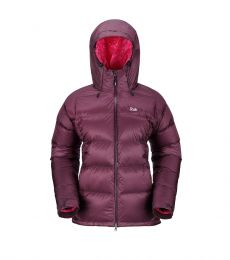 Womens Neutrino Jacket Aubergine